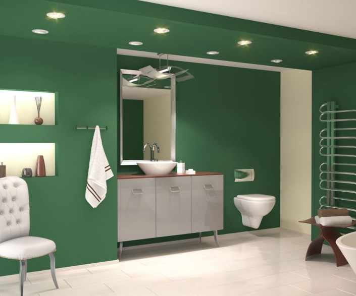 Innenvisualisierung Badzimmer