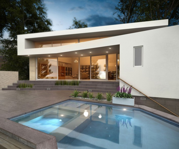 Visualisierung Villa