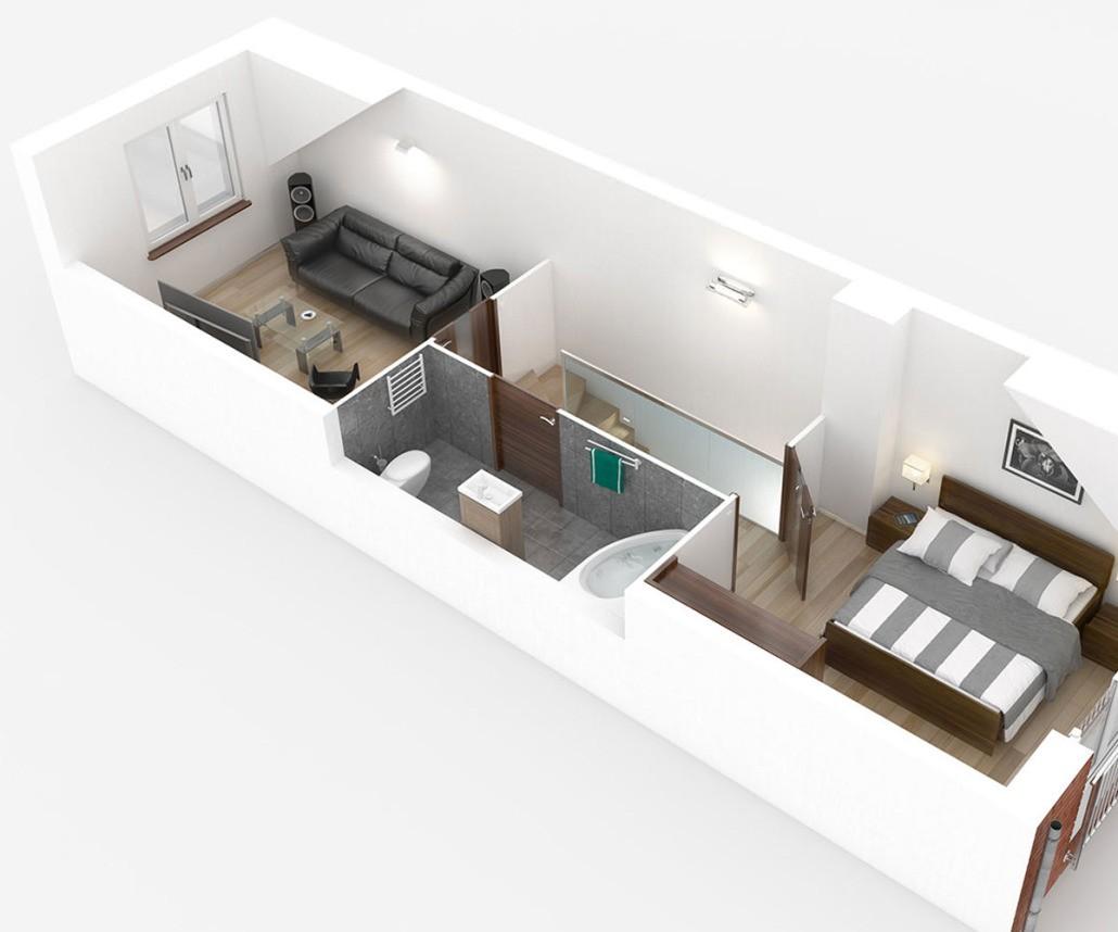 Visualisierung Hotelzimmer