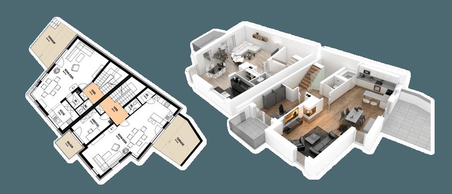 Isometrische 3D Visualisierung Praxis