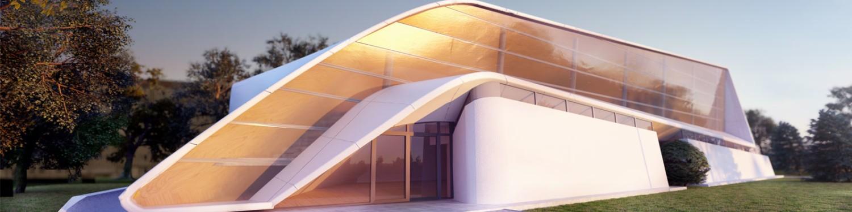 Visualisierung Gebäude Stadion